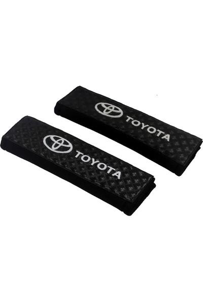 Fox Toyota Araca Özel Nakışlı Oto Emniyet Kemeri Konfor Kılıfı