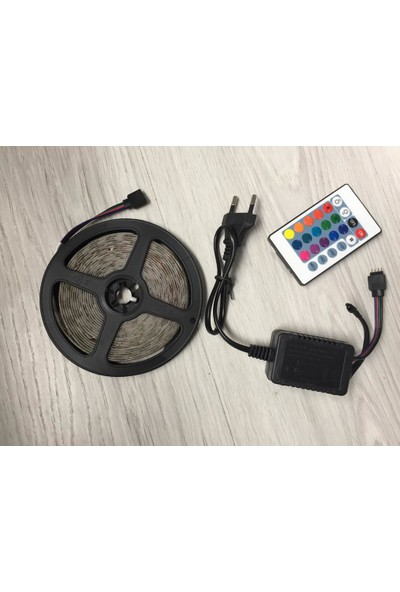 Sesay Rgb Şerit Led İç Dış Mekan Silikonlu Set 16 renk 5 mt