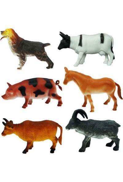 Crazoo Çiftlik Hayvanları Büyük Poşet 6lı
