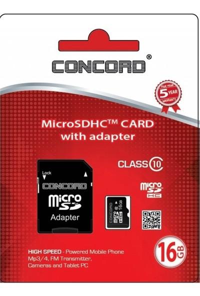 Concord Hafıza Kartı C-M16 High Speeded 16 gb