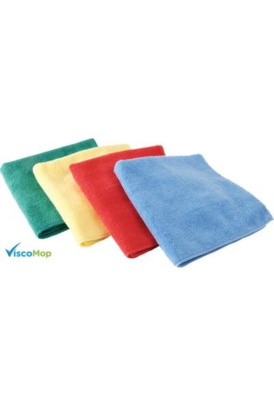 Viscomop Mikrofiber Temizlik Bezi 40 x 40 6'Lı Paket