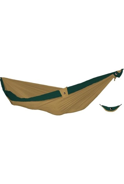Tıcket To The Moon King Size Moon Hammock Hamak Yeşil Kahverengi