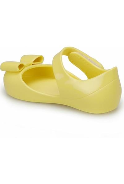 Igor S10167 Mia Lazo Sarı Kız Çocuk Sandalet