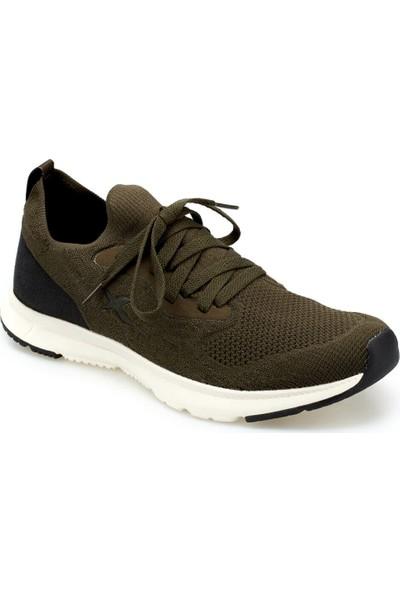 Kinetix Corsa Haki Siyah Erkek Koşu Ayakkabısı