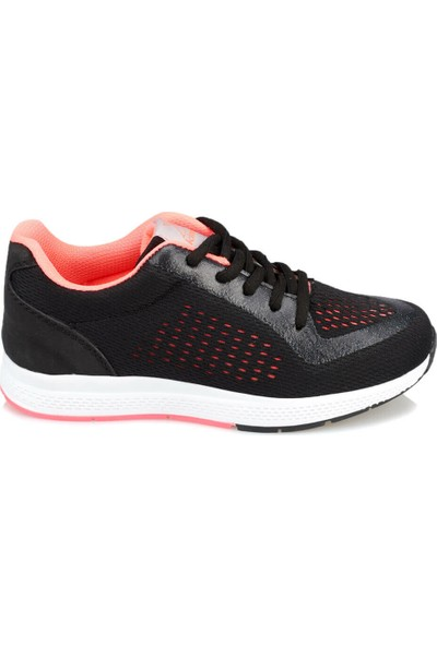 Kinetix Arnos Siyah Neon Pembe Kız Çocuk Sneaker Ayakkabı