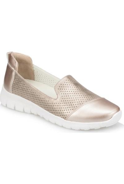 Travel Soft Trv910029 Altın Kadın Ayakkabı
