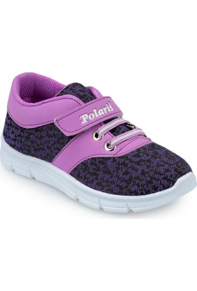 Polaris 91.511140.P Mor Kız Çocuk Ayakkabı