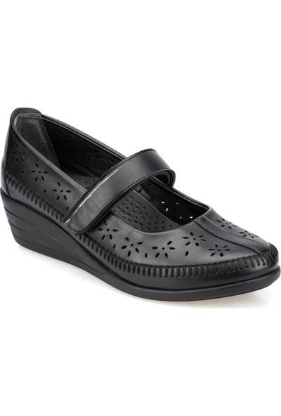 Polaris 91.150708.Z Siyah Kadın Ayakkabı