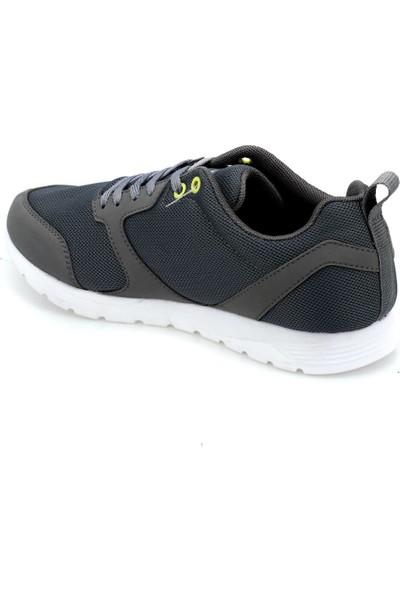 Kinetix Capella Koyu Gri Neon Sarı Erkek Koşu Ayakkabısı