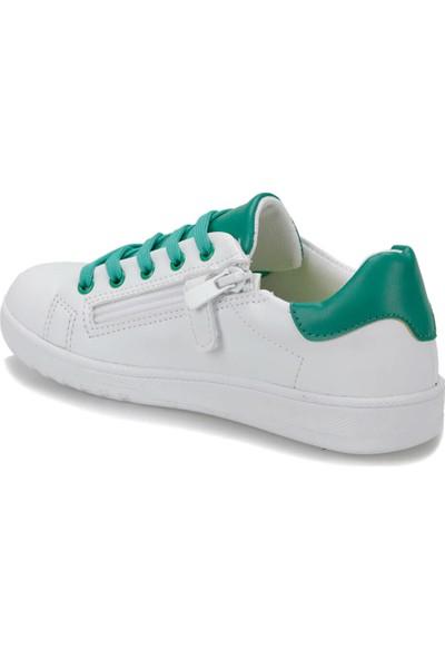 I Cool Samuel Beyaz Yeşil Erkek Çocuk Sneaker Ayakkabı