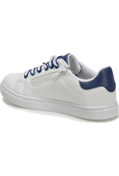 I Cool Samuel Beyaz Lacivert Erkek Çocuk Sneaker Ayakkabı