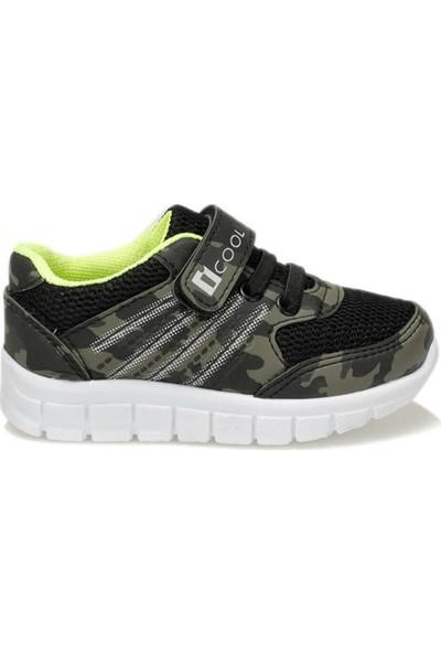 I Cool Stefan Haki Siyah Erkek Çocuk Sneaker Ayakkabı