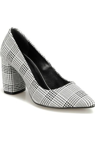 Butigo 18K-3001 Beyaz Kadın Gova Ayakkabı