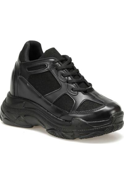 Butigo 18K-4001 Siyah Kadın Spor Ayakkabı