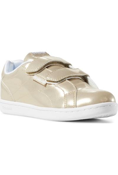 Reebok Royal Comp C Altın Beyaz Kız Çocuk Tenis Ayakkabısı