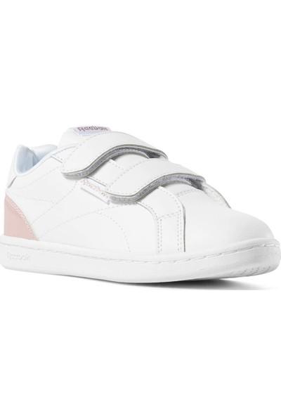Reebok Royal Comp C Beyaz Pembe Kız Çocuk Tenis Ayakkabısı