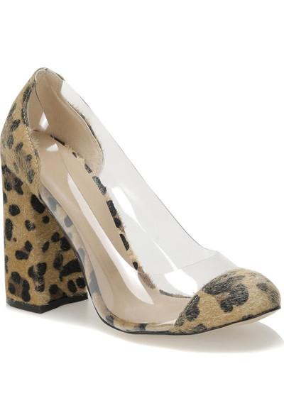 Butigo Papy89Z Cilt Leopar Kadın Ayakkabı