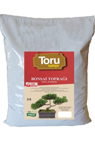 Toru Bahçe Bonsai Saksı Toprağı Zenginleştirilmiş 3 lt