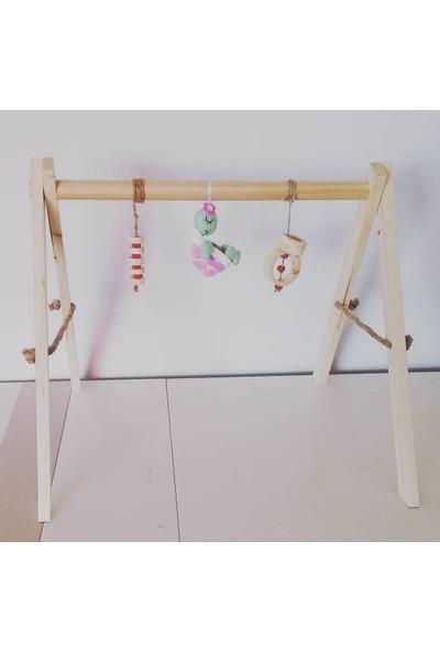 Oyuncak Ağacı Baby Gym Ahşap Bebek Egzersiz Aleti