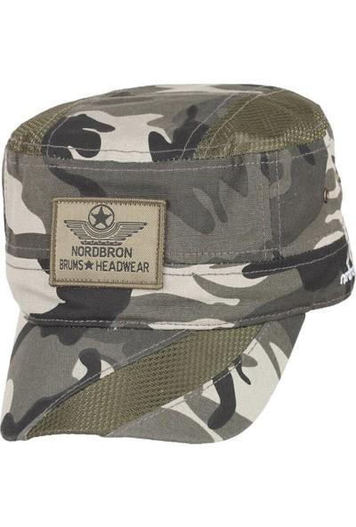 Nordbron Nb8010C059 Kamuflaj Rengi Kadın Şapka