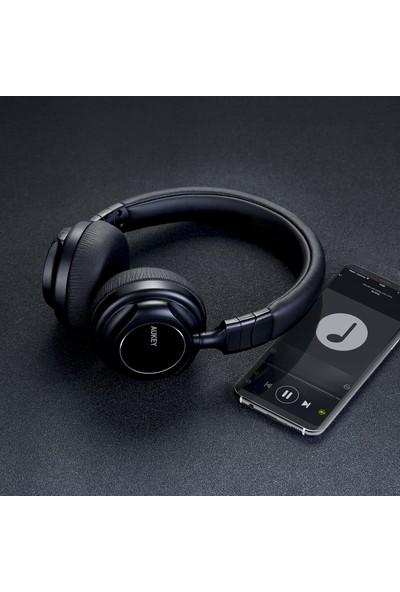 Aukey EP-B36 Katlanabilir Kablolu+Kablosuz Bluetooth Kulaklık