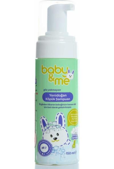 Baby&Me Yenidoğan Köpük Şampuan 150 ml