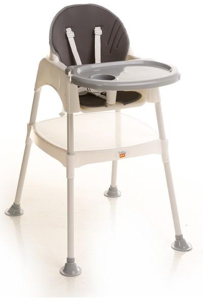 Baby&Plus Double Masalı Mama Sandalyesi