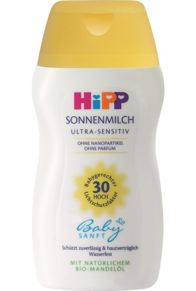 Hipp Babysanft Mini Güneş Sütü 30 Faktör 50 ml