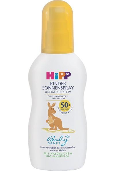 Hipp Babysanft Sprey Güneş Kremi 50+ Faktör 150 ml