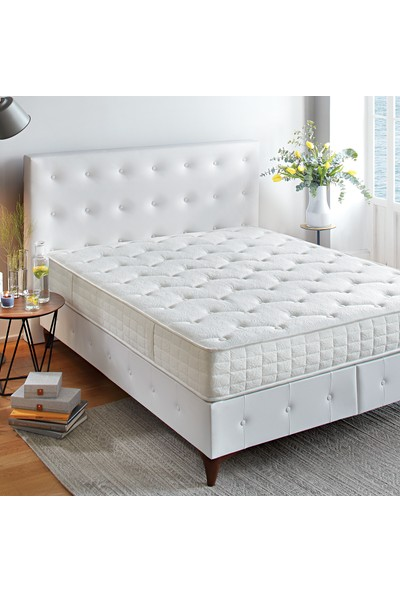Yataş Bedding SİLVER THERAPY DHT Yaylı Seri Yatak (Tek Kişilik - 90x200 cm)