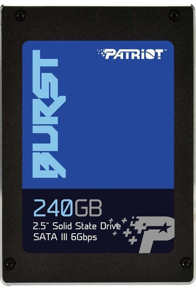 "PATRIOT BURST 2.5"" 240GB SATA III 555/500 SSD PBU240GS25SSDR"