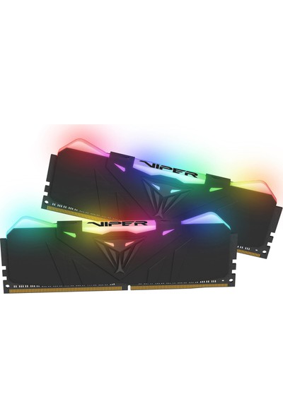 Patriot 16GB (2 x 8GB) 3000MHz Viper Steel DDR4 CL16 1,35V Siyah Soğutuculu