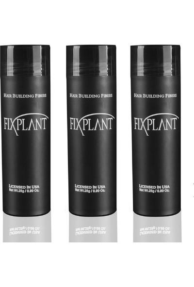 Fixplant 3 Şişe 84 gr Koyu Kahve Saç Dolgunlaştırıcı