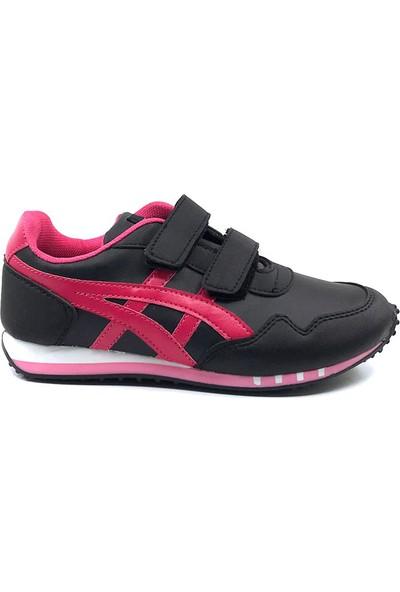 Tagger Tayger Siyah-Fuşya Kız Çocuk Spor Ayakkabı