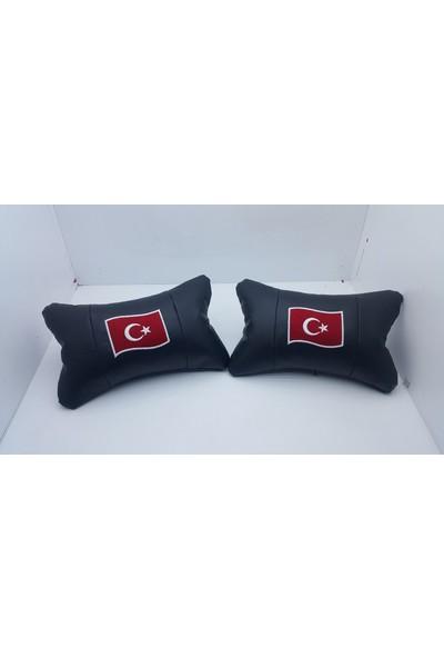 Vip Plakalık Türkiye Araç Boyun Yastığı