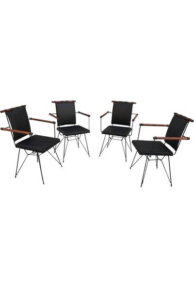 Bengi sandalye Penyez Kollu Metal