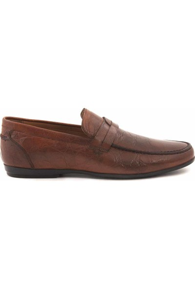 Kemal Tanca Deri Erkek Loafer 9871