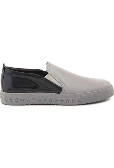 Mocassini Deri Bağcıksız Erkek Sneaker 0673