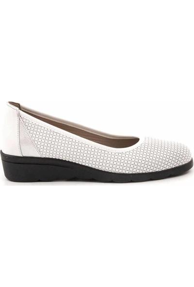 Kemal Tanca Deri Kadın Günlük Ayakkabı 4520