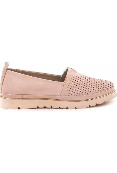 Kemal Tanca Deri Kadın Günlük Ayakkabı 0150