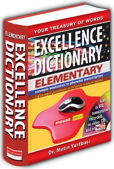 Excellence Elementary English Dictionary English - Turkish