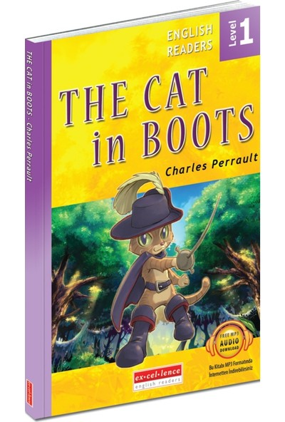 The Cat in Boots - English Readers Level 1