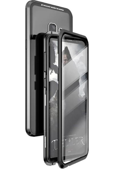 Coverzone Samsung Galaxy Note 8 Kılıf 360 Manyetik Kapaklı Crouch Kılıf