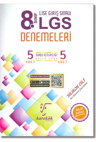 Karekök 8. Sınıf LGS 5 Deneme