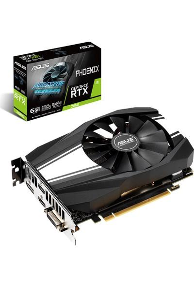Asus Phoenix GeForce RTX 2060 6GB 192Bit GDDR6 (PH-RTX2060-6G)