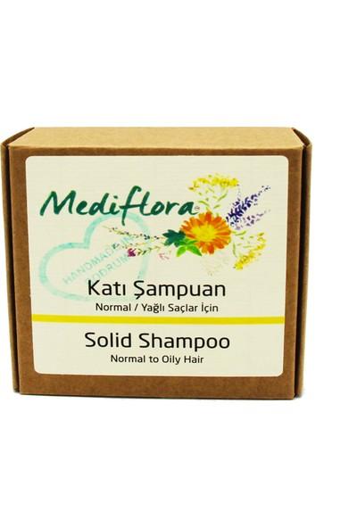 Mediflora Normal/Yağlı Saçlar İçin Katı Şampuan (Konsantre)