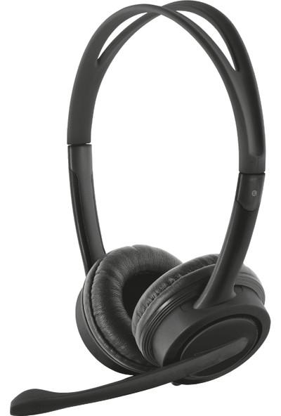 Trust 17591 Mauro USB Mikrofonlu Kulaklık Siyah