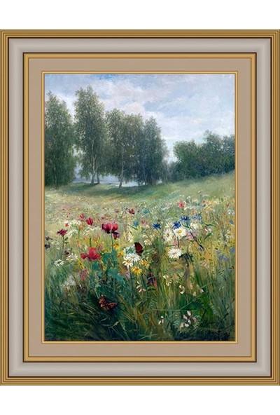 Angora Ac 1034 Billing Anna Çiçek Ve Meyve İle Natürmort Kanvas Tablo