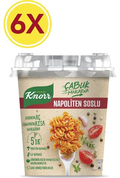 Knorr Çabuk Makarna Napoliten Soslu 6'lı Paket 402 gr