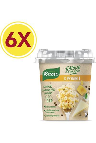 Knorr Çabuk Makarna 3 Peynirli 6'lı Paket 402 gr